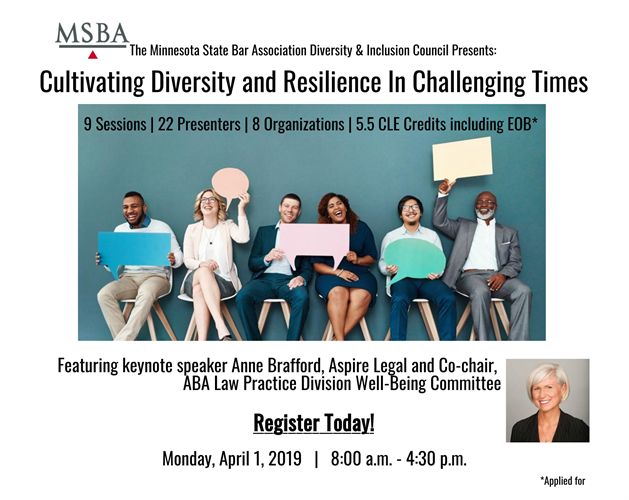 Biennial Diversity and Inclusion Conference Flyer
